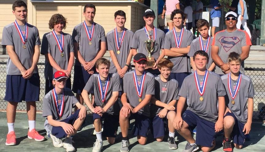HS Tennis: HHP Boys Win 5th Straight Title