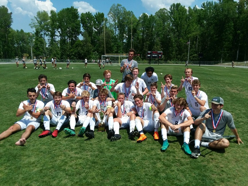 HS Soccer: HHCA Boys Claim 2nd Straight State Title