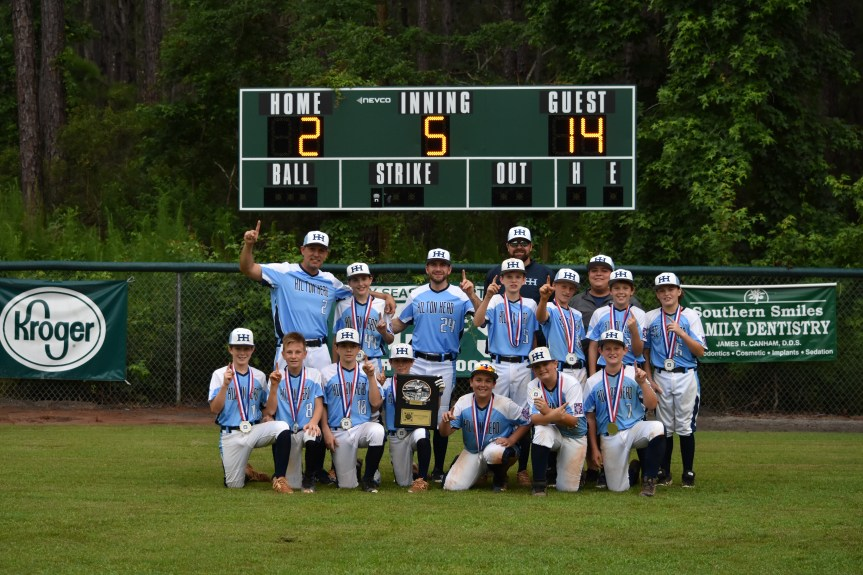 Youth Baseball: Hilton Head O-Zone Claims District Title