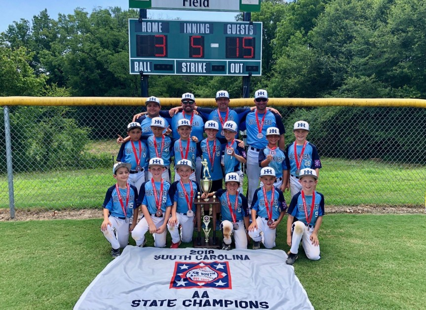 Youth Baseball: Hilton Head AA All-Stars Are State Champs