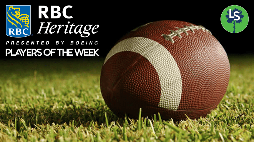 HSFB: Week 8 RBC Heritage Player of the Week Nominees