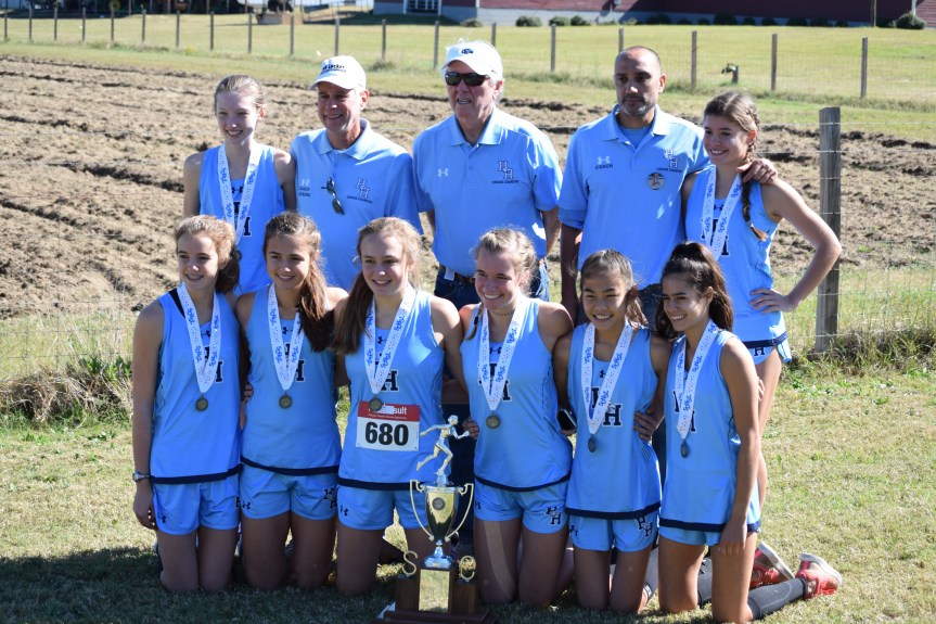 HSXC: Seahawk Girls Finish 2nd At State Meet