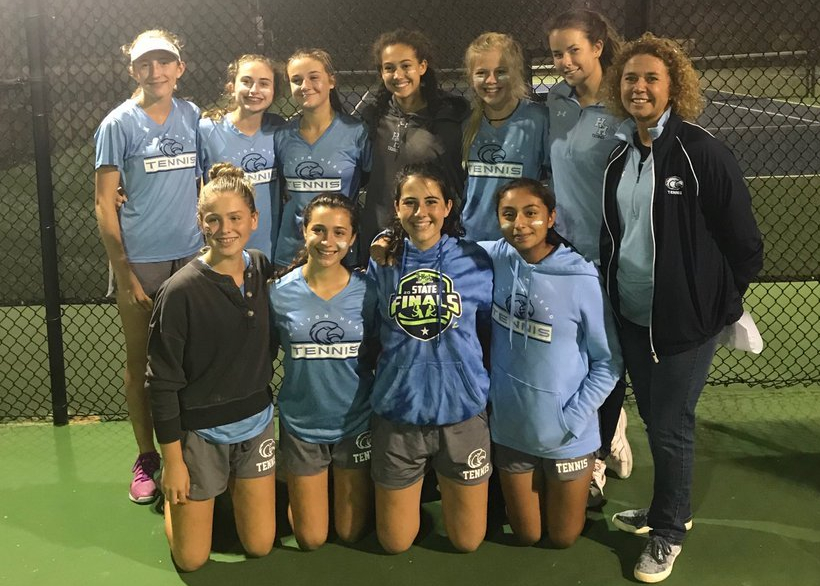 HS Tennis: Seahawks Secure Lower State Title