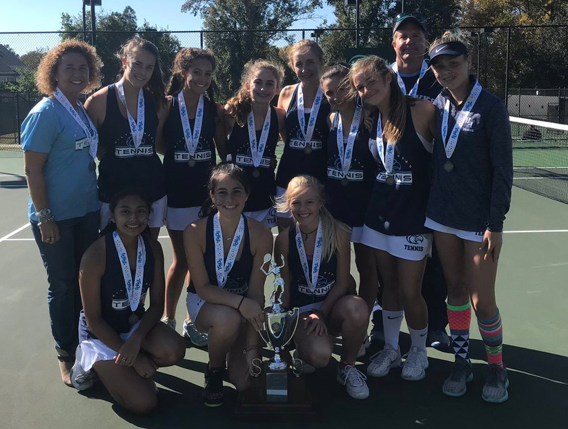 HS Tennis: Seahawks Fall Short In State Title Match