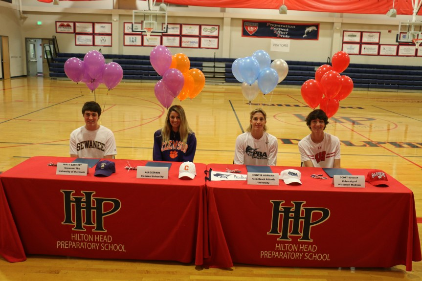 Four At HHP Sign With College Programs