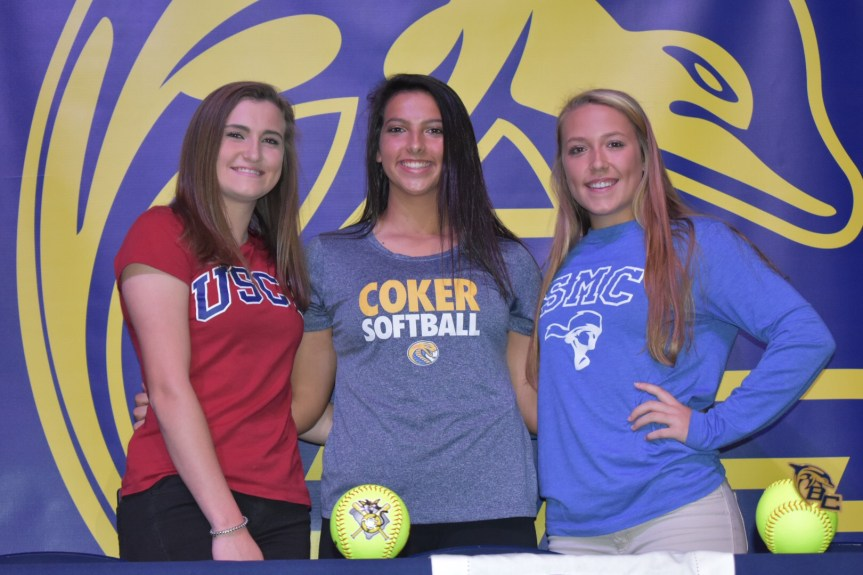 Three BCHS Softball Stars Sign With Colleges