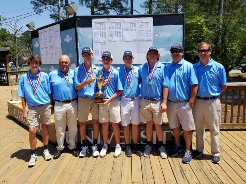 HS Golf: BA Claims 2nd Straight SCISA 1A Crown