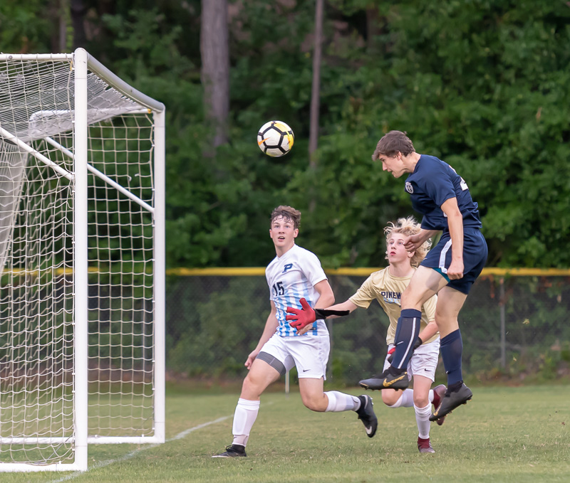 HS Soccer: HHCA Boys Win Regular-Season Finale