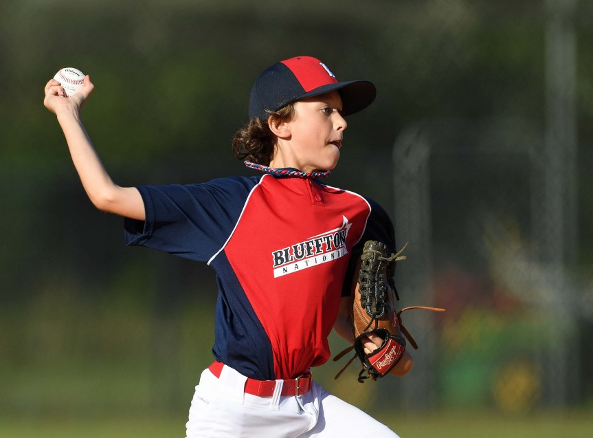 Youth Baseball: Pitching Powers Bluffton National, Hilton