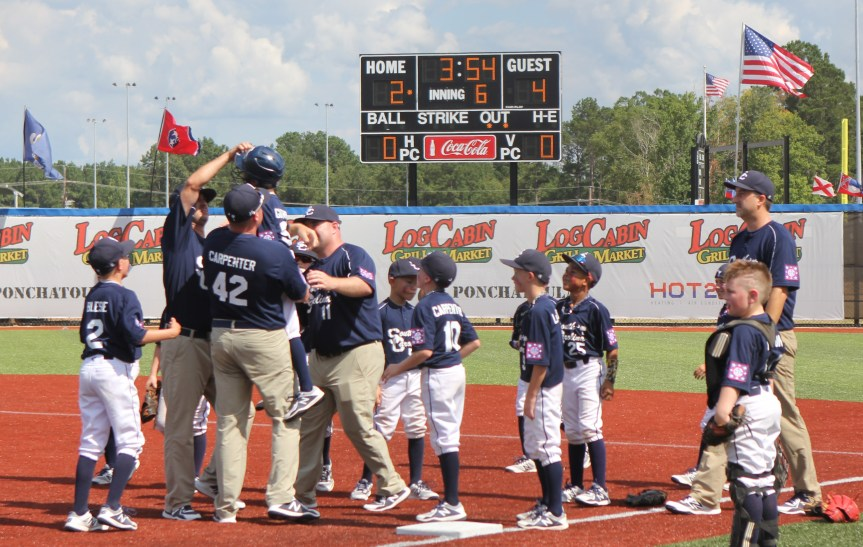 Youth Baseball: Bluffton Splits On Opening Day Of Machine Pitch World Series