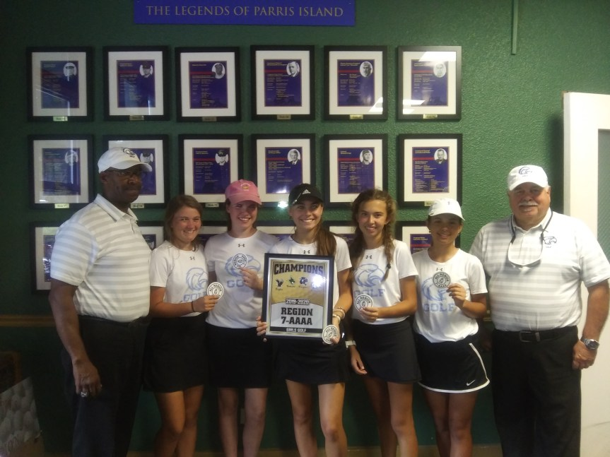 HS Golf: Seahawks, Stone claim region crowns