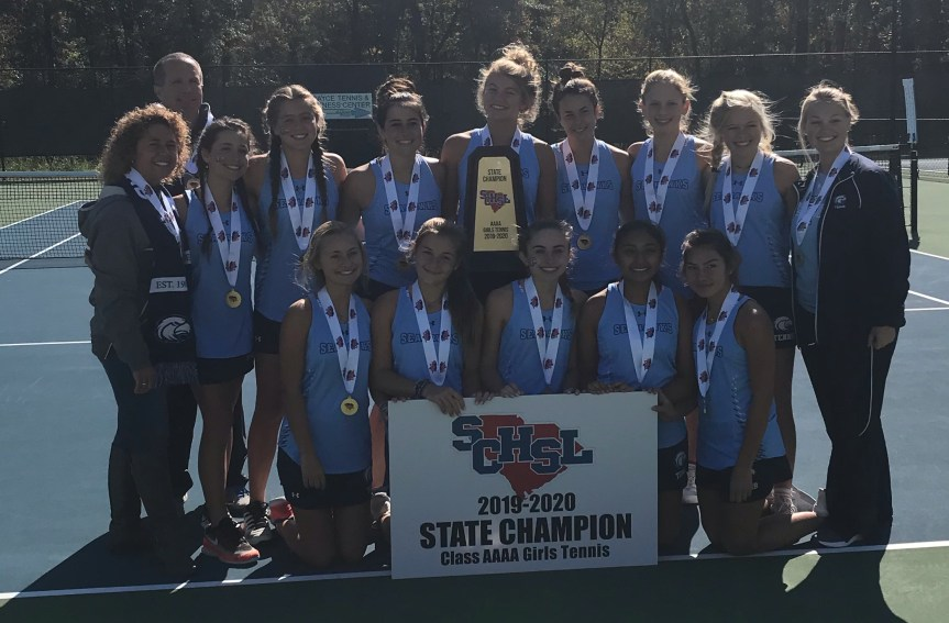 HS Tennis: Young Seahawks capture state title