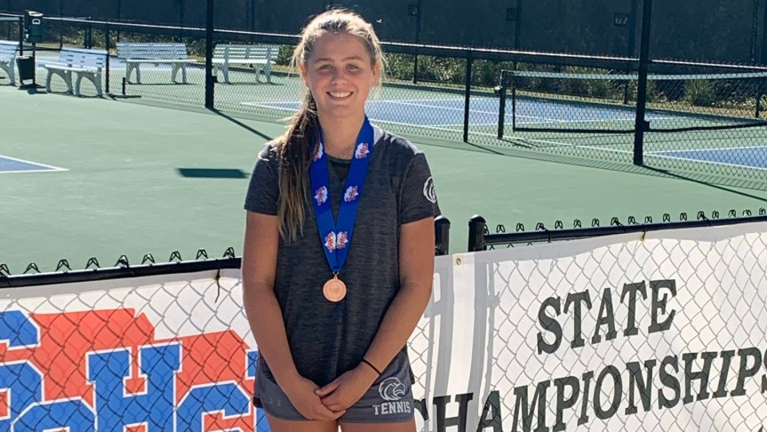 HS Tennis: Seahawks' Ruckno 3rd at state singles