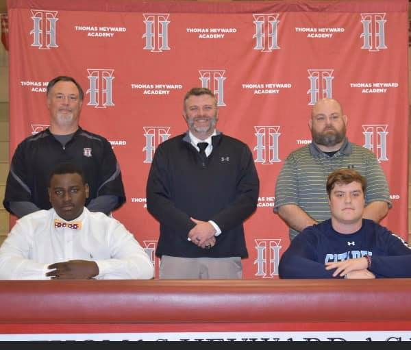 HSFB: THA's Hayes, Gordon sign with colleges