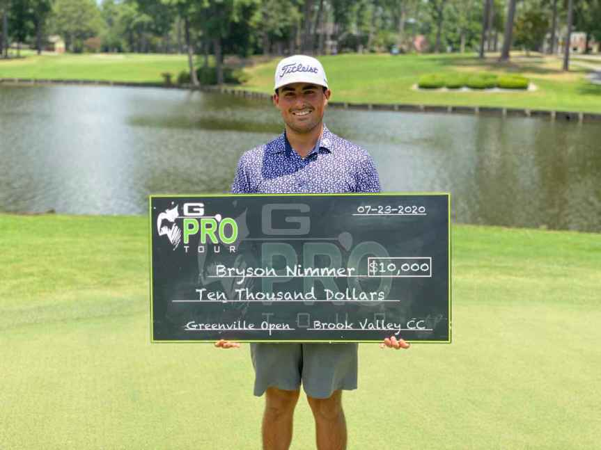 Bluffton's Bryson Nimmer earns first pro win on GPro Tour