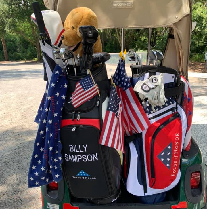 Sampson still teeing it up for Folds of Honor