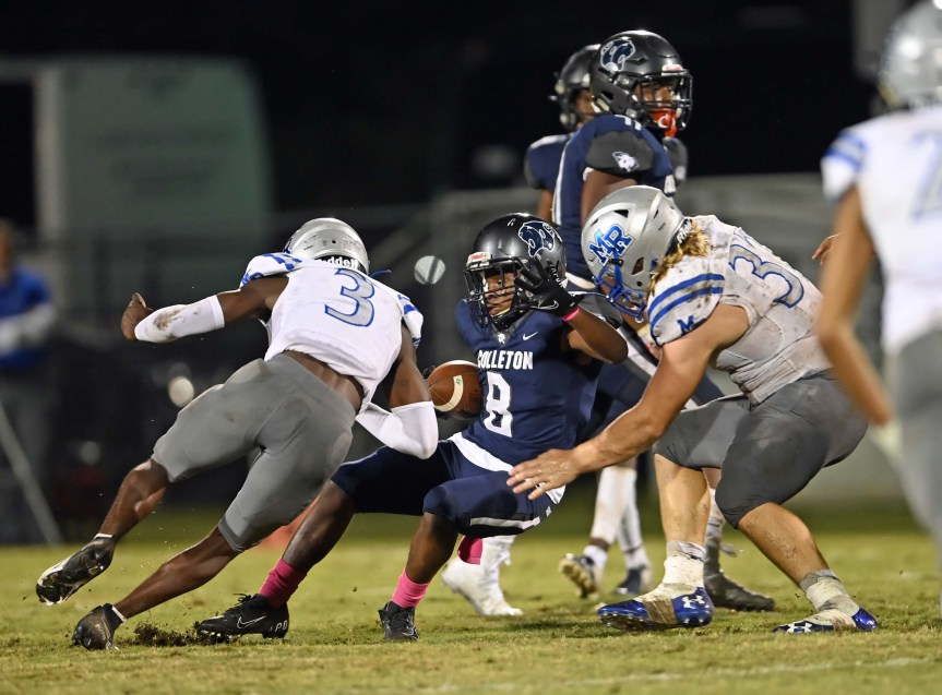 HSFB: Sharks bounce back big vs. Cougars