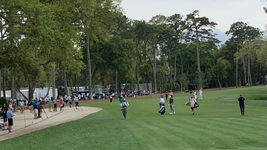 RIETVELD: Up close and personal, this is the RBC Heritage like we've never seen