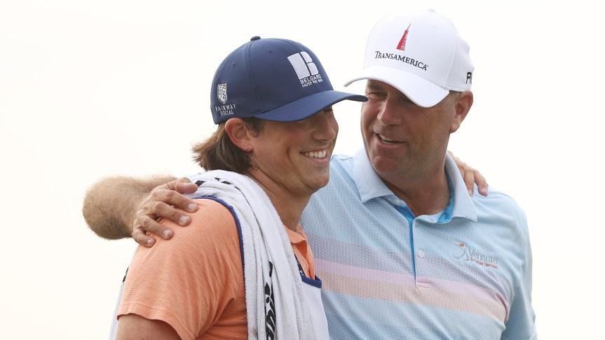 RIETVELD: Stewart and Reagan Cink's heartwarming triumph at Harbour Town hit home