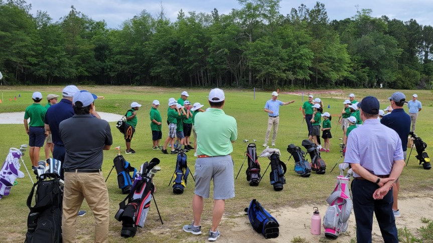 First Tee of the Lowcountry summer programs develop skills for golf, life