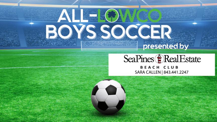 2021 All-Lowco Boys Soccer Team presented by Sara Callen, Sea Pines Real Estate Beach Club