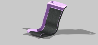 new seat frame two part design