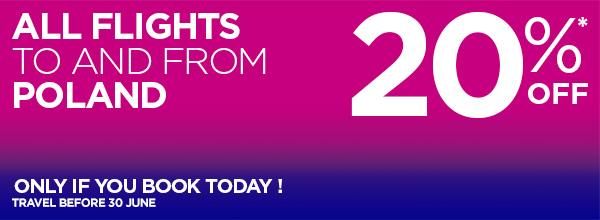 Розпродаж Візз Ейр, Wizz Air  Sale 20% Poland