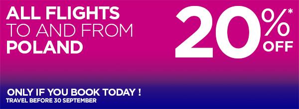 Wizz Air розпродаж квитків із Польщі