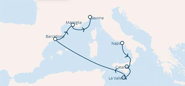 Карта круїзу