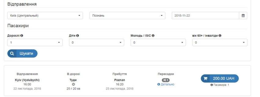 Київ - Познань