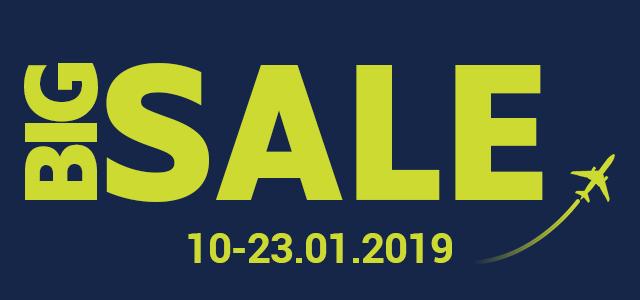 Великий розпродаж airBaltic