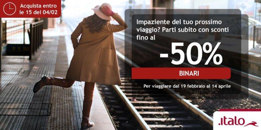 Italo розпродаж залізничних квитків