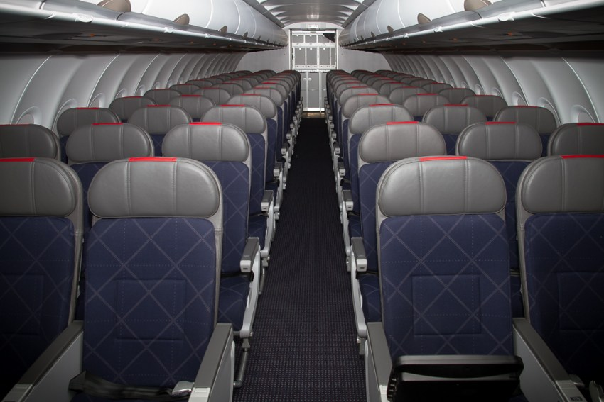 airbus a321 cabin seats