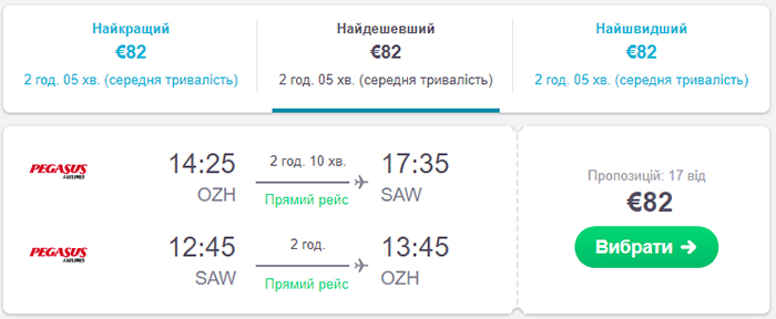 Запоріжжя - Стамбул - Запоріжжя від€82 - €88