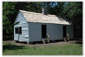 Cabin D Magnolia Plantation