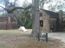 Boone Hall Slave Dwellings