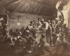 Watch meeting, Dec. 31, 1862--Waiting for the hourdetail