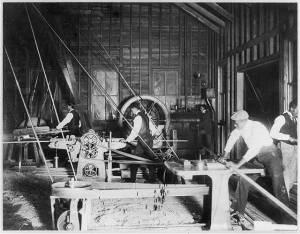 Claflin Wood work shop of Claflin University, Orangeburg, S.C. LOC 3b16757r
