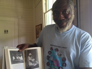 Hanif Haynes with Great Grandmother Formerly Enslaved on Ossabaw