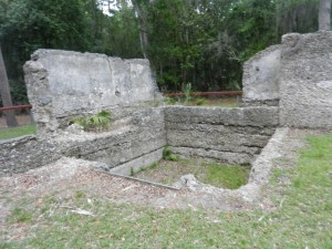 Tabby Walls Constructed by Enslaved at Wormsloe