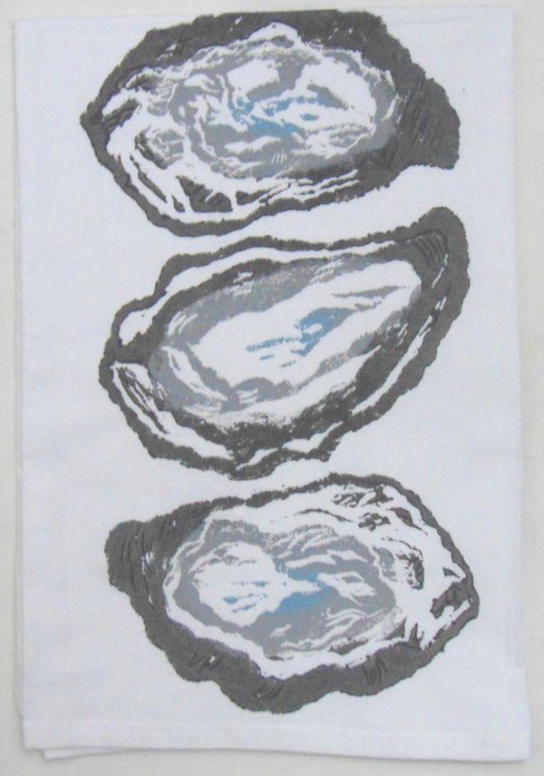 3 oyster shells