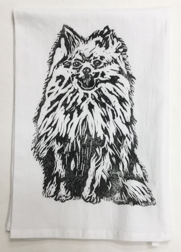 Pomeranian towel