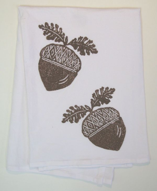 acorns towel