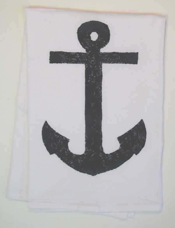 anchor towel