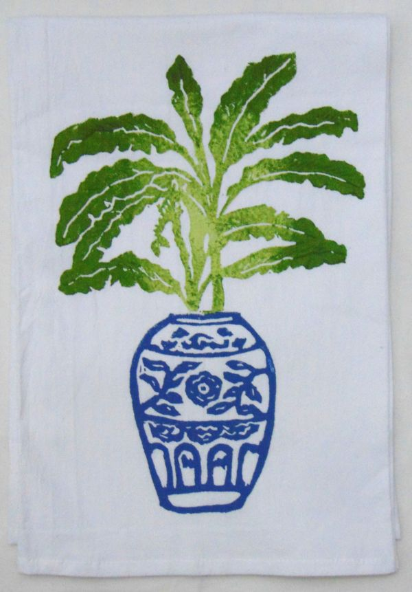 banana plant towel 2
