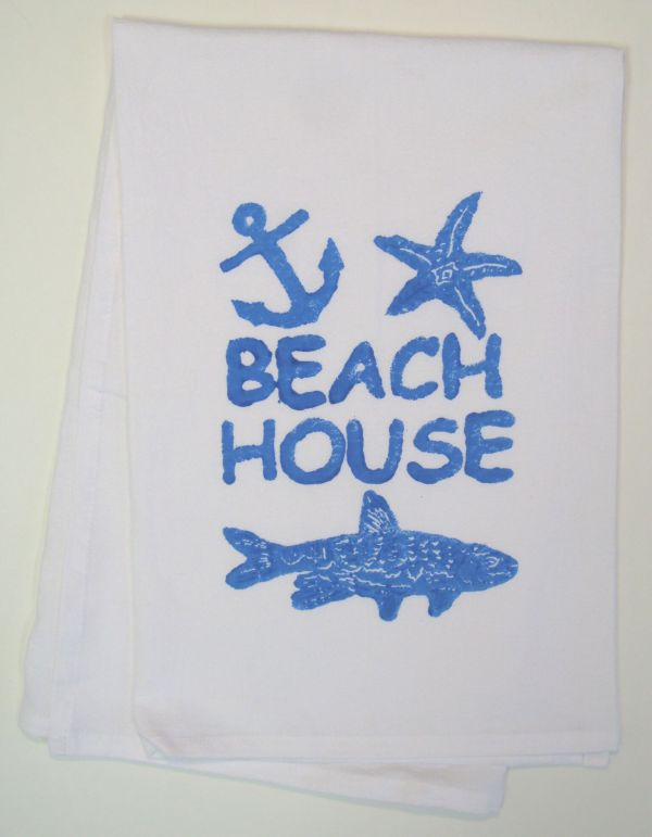 beach house towel