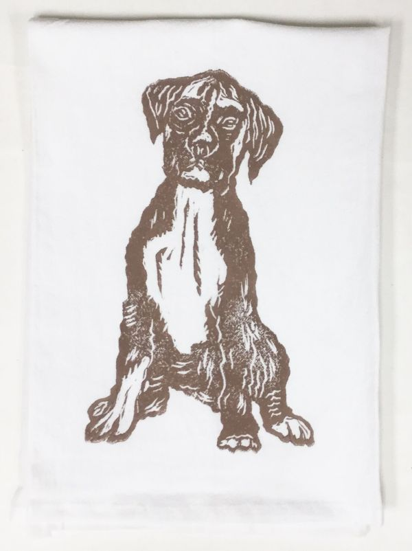 boxer towel