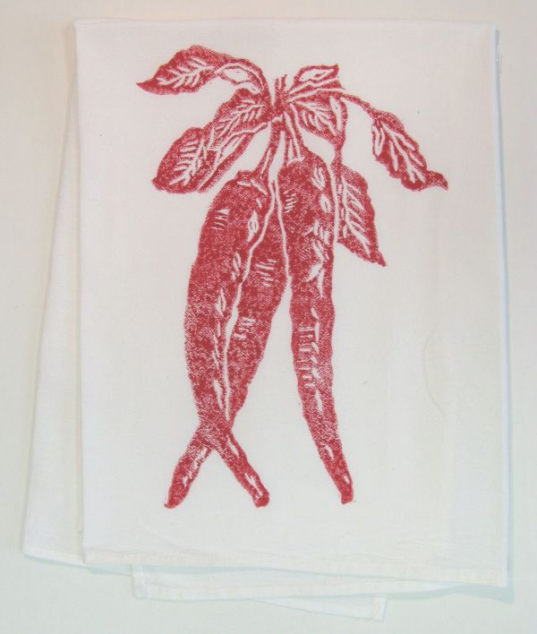 chili pepper towel