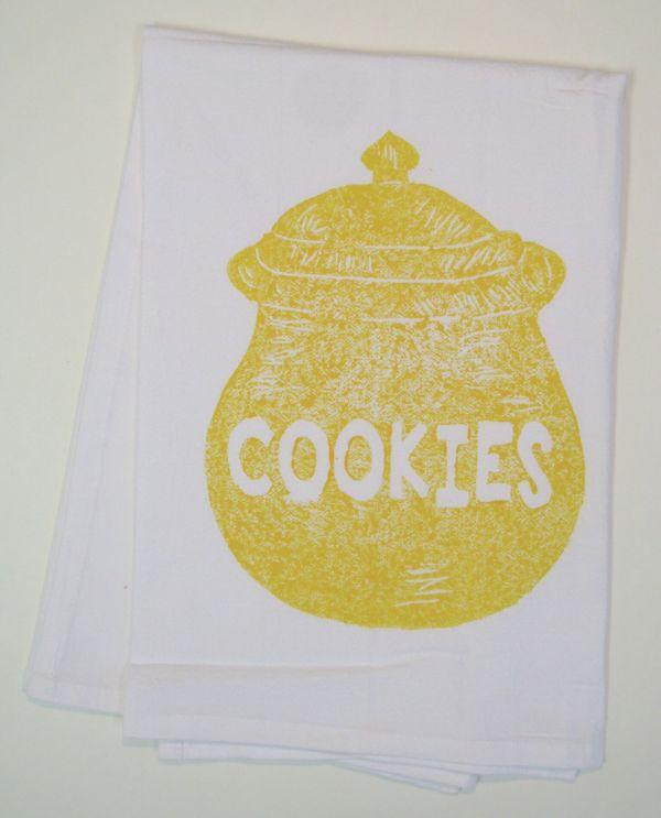 cookie jar towel