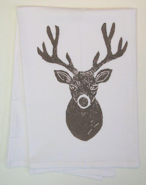 deer head towel